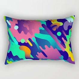 Splash Pattern Rectangular Pillow