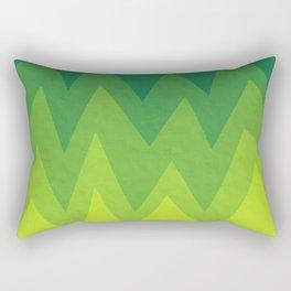 Green Summer Forest Rectangular Pillow