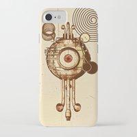 mandie manzano iPhone & iPod Cases featuring hypnotism by dvdesign