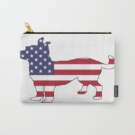 "Chihuahua ""American Flag"" Carry-All Pouch"