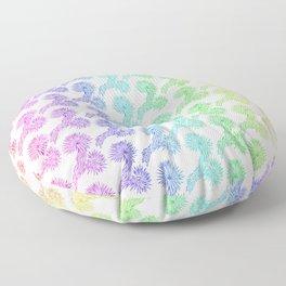 Joshua Tree Arco Iris by CREYES Floor Pillow