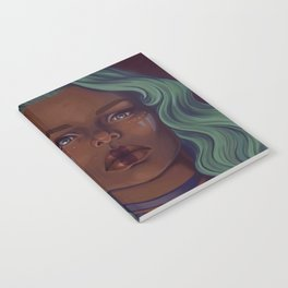 Steely eyes Notebook
