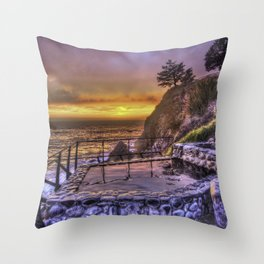 Baths and Beyond Throw Pillow