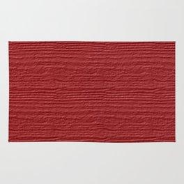 Cranberry Wood Grain Color Accent Rug