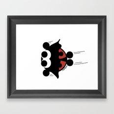 Batbug Framed Art Print