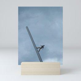 walking to the sky Mini Art Print