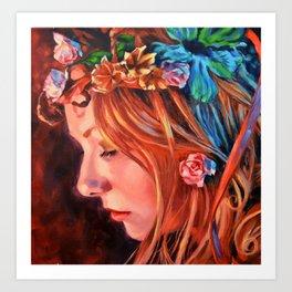 A Sara Fairy Art Print