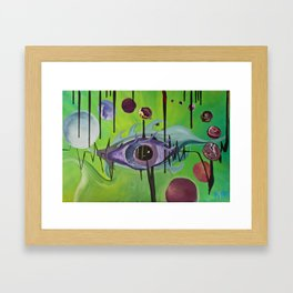 """""""Unified Vision Theory"""" Framed Art Print"""