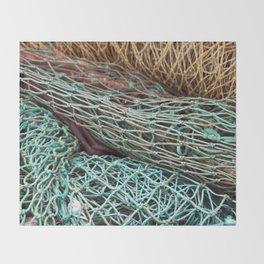 FISHING NET Throw Blanket