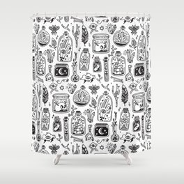 The Tiny Witch Gallery Shower Curtain