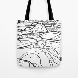 Eno River Sketch 2 Tote Bag