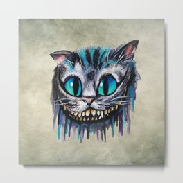 Cat Painting 18 Metal Print
