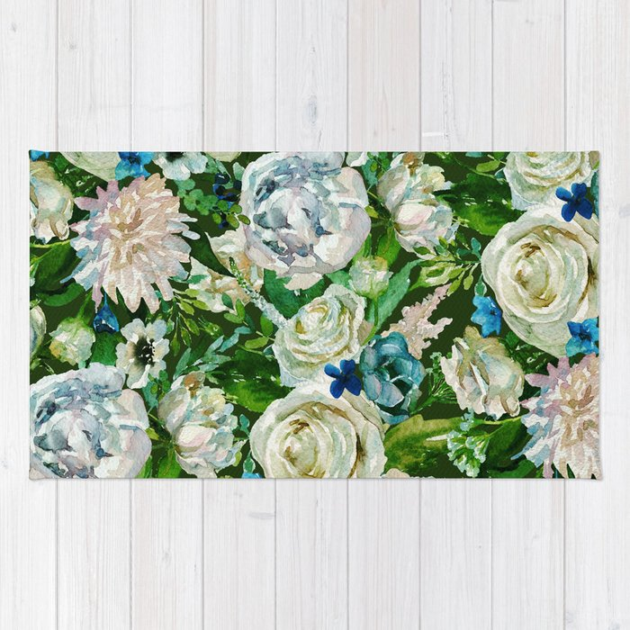 Floral pattern #society6 #pattern #buyart Rug