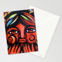 Boy con miedo Stationery Cards
