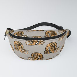 Tiger Stretching Fanny Pack