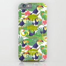 Toucan Paradise Pattern Slim Case iPhone 6s