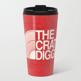 THE CRATE DIGGER FACE Travel Mug