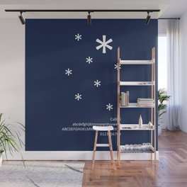 SNOW - FontLove - CHRISTMAS EDITION Wall Mural