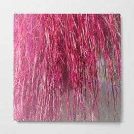Pink Hair Metal Print