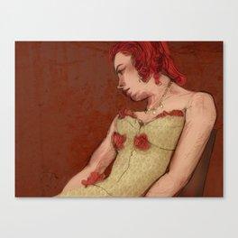 Annette Betté Kellow Canvas Print