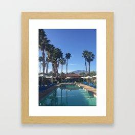 La Quinta Mornings: Palm Desert Framed Art Print