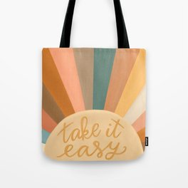 Take It Easy, Sunshine Tote Bag