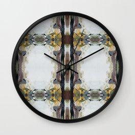 Light Strokes Dark Strokes Wall Clock