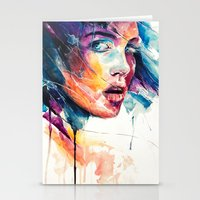 glass Stationery Cards featuring sheets of colored glass by agnes-cecile