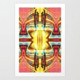 DimentionalMainframeTerminal Art Print