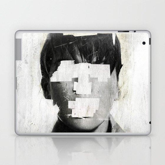 Faceless | number 02 Laptop & iPad Skin