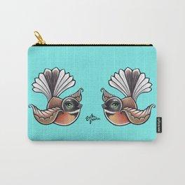 Fantail - Aqua Carry-All Pouch