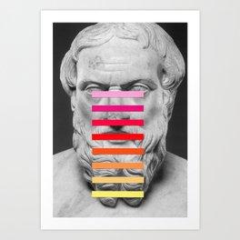 Sculpture With A Spectrum 2 Art Print