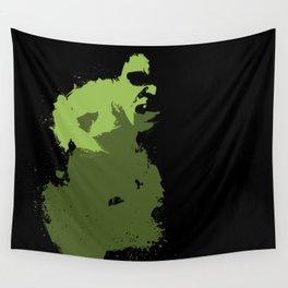 Hulk Splatter Wall Tapestry