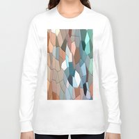 mosaic Long Sleeve T-shirts featuring mosaic  by  Agostino Lo Coco
