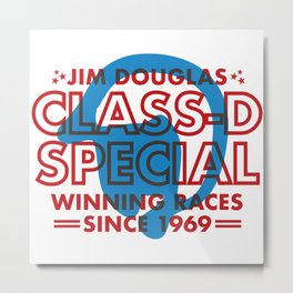 Jim Douglas - Class D Special Metal Print