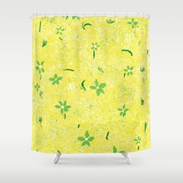 Spring Flowers Before April Showers Shower Curtain