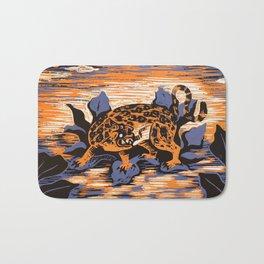 The jaguar Bath Mat