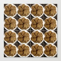 cookies Canvas Prints featuring Cookies by Albano Juliano