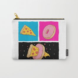 Pizza & Donut Carry-All Pouch