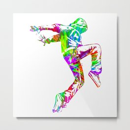 Hip-Hop Dance Metal Print