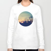 bokeh Long Sleeve T-shirts featuring We're only young once by Laura Ruth