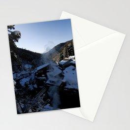 jigokudani monkey park Stationery Cards