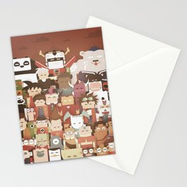 The Nick Yorkers family portrait  Stationery Cards