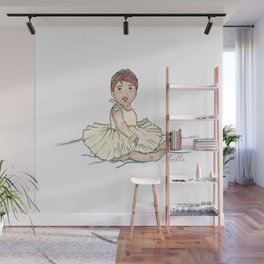 Auburn Ballerina Wall Mural