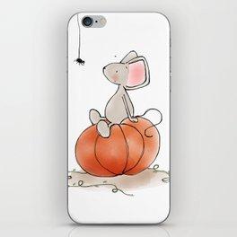 Little Mouse - Pumpkin  iPhone Skin
