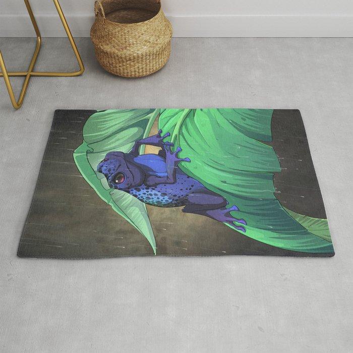 Blue Dart Rug by neondragon