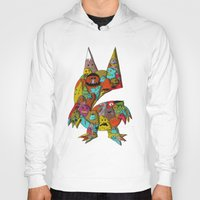 monster Hoodies featuring MONSTER by Tyson Bodnarchuk