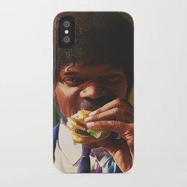 Tasty Burger iPhone Case