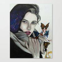 celestial Canvas Prints featuring Celestial by Kylerg