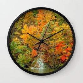 Magestic Fall Wall Clock